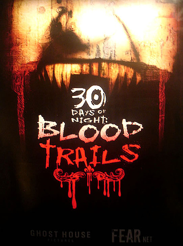 Cartel de 30 Days of Night: Blood Trails